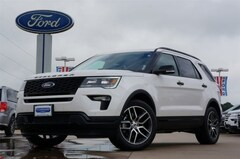 New 2018 Ford Explorer Sport SUV X85229 for sale in Cleburne, TX