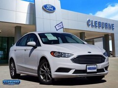 2017 Ford Fusion SE Sedan 3FA6P0HD8HR367081 for sale in Cleburne, TX