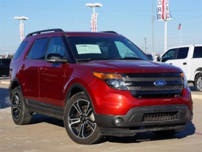 2015 Ford Explorer Sport SUV for sale in Cleburne