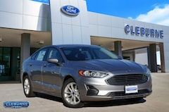 New 2020 Ford Fusion SE Sedan H26124 for sale in Cleburne, TX