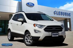 New 2020 Ford EcoSport SE Crossover EC44479 for sale in Cleburne, TX