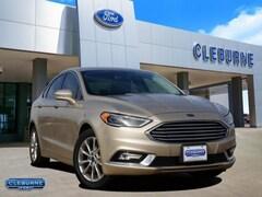 2017 Ford Fusion SE Sedan 3FA6P0HD2HR228614 for sale in Cleburne, TX