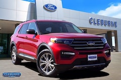 New 2020 Ford Explorer XLT SUV for sale in Cleburne, TX