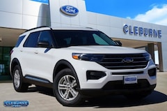 New 2020 Ford Explorer XLT SUV X69833 for sale in Cleburne, TX