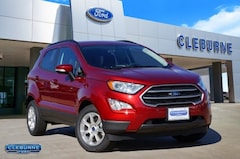 New 2019 Ford EcoSport SE Crossover EC08312 for sale in Cleburne, TX