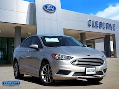2017 Ford Fusion SE Sedan 3FA6P0HD1HR305487 for sale in Cleburne, TX