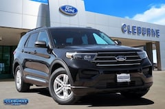 New 2020 Ford Explorer XLT SUV X92834 for sale in Cleburne, TX