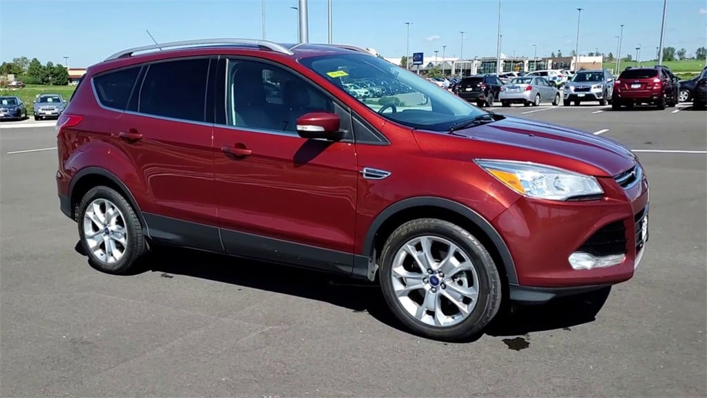 Used 2016 Ford Escape Titanium with VIN 1FMCU9JX0GUB59858 for sale in Rochester, Minnesota