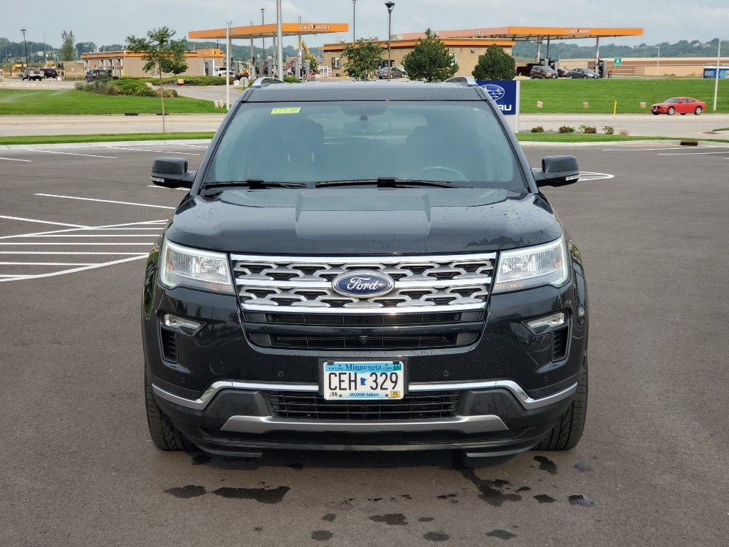 Used 2018 Ford Explorer Limited with VIN 1FM5K8F8XJGA20336 for sale in Rochester, Minnesota
