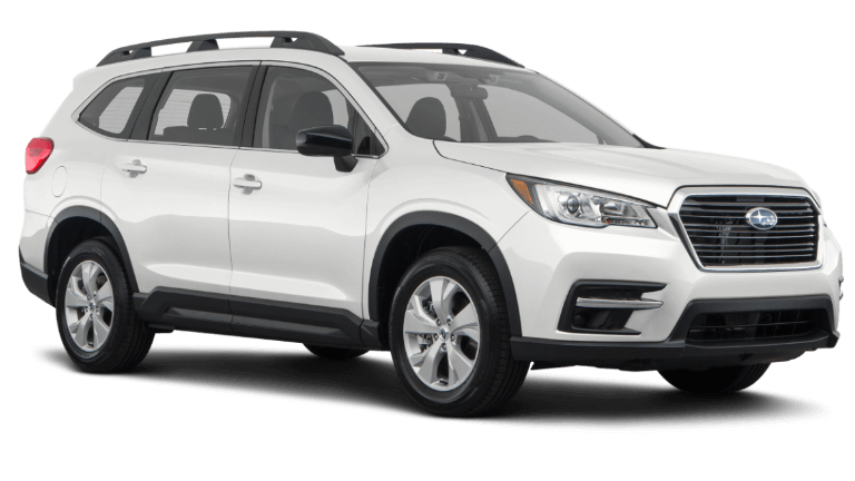 2021 Crystal White Subaru Ascent Base