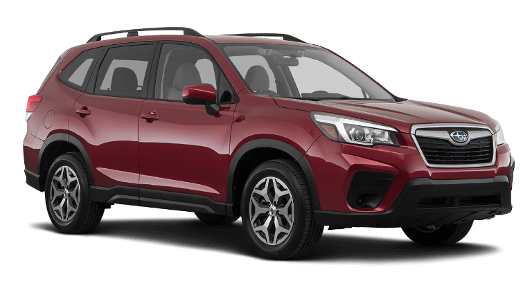 2021 Subaru Forester Premium - Crimson Red