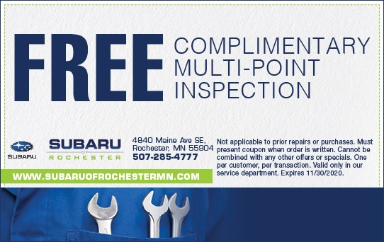 Free Complimentary Multi-point Inspection