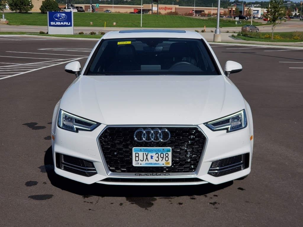 Used 2018 Audi A4 Premium Plus with VIN WAUENAF48JA049723 for sale in Rochester, Minnesota