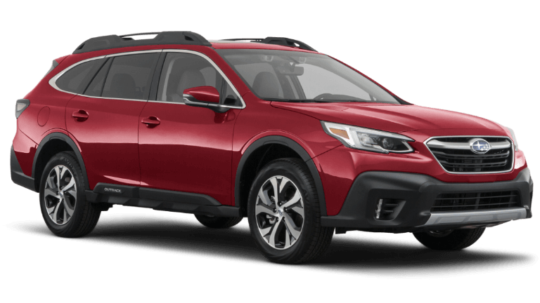 2020 Subaru Outback Limited XT - Crimson Red