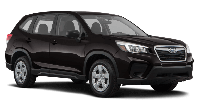 2021 Crystal Black Subaru Forester Base