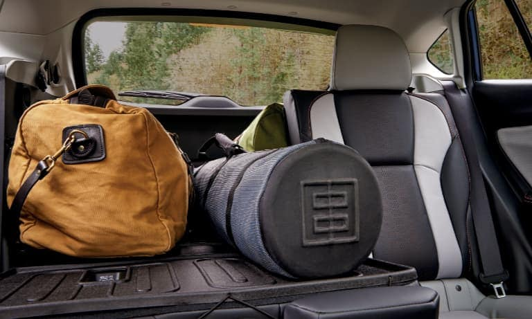 2021 Subaru Crosstrek Trunk Packed with Bags