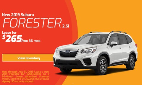 July - 2019 Forester
