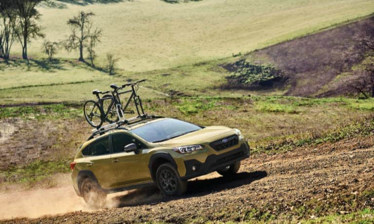 2021 Subaru Crosstrek Driving Off-Road
