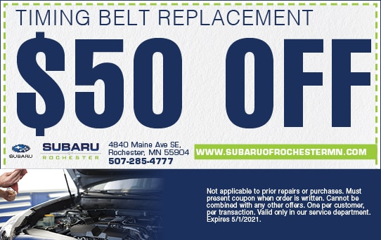 Timing Belt Replacement | Subaru of Rochester