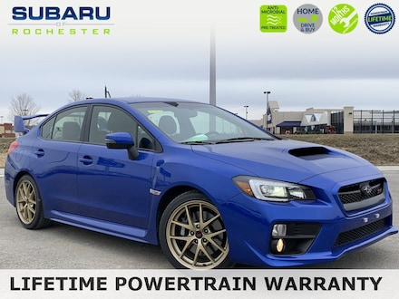 2015 Subaru Impreza WRX STi Launch Edition Sedan