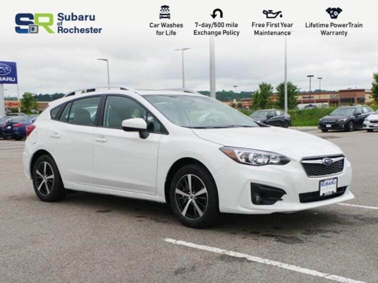 new 2019 Subaru Impreza 2.0i Premium Hatchback 4S3GTAD65K3742664 For Sale/Lease Rochester MN