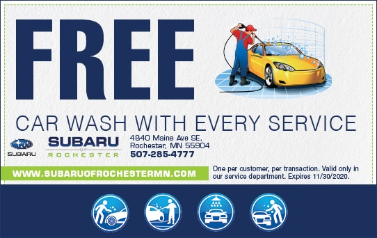 Free Car Wash with Every Service