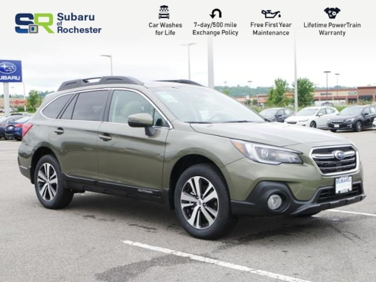 new 2019 Subaru Outback 2.5i Limited SUV 4S4BSANC6K3363332 For Sale/Lease Rochester MN