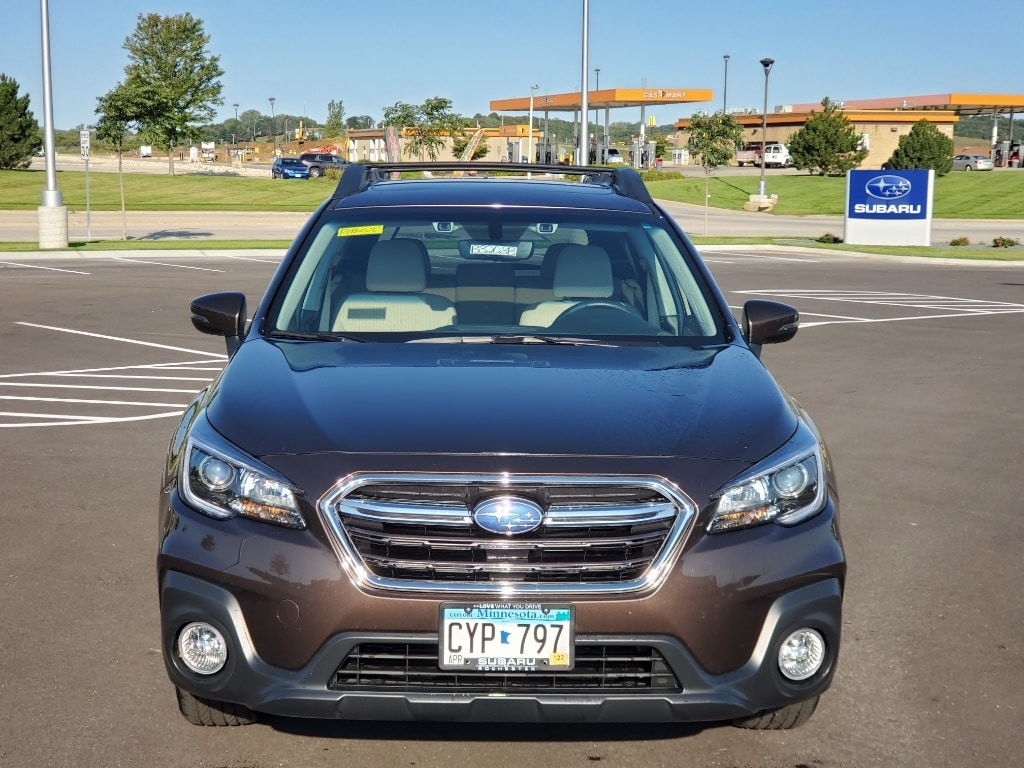 Used 2019 Subaru Outback Premium with VIN 4S4BSAHC7K3246516 for sale in Rochester, Minnesota