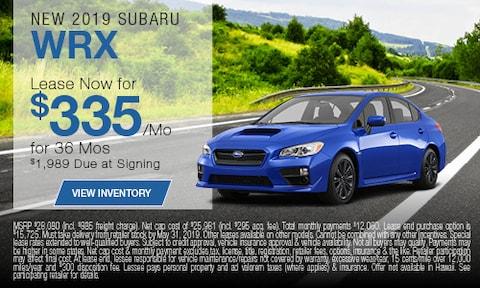 New 2019 Subaru WRX