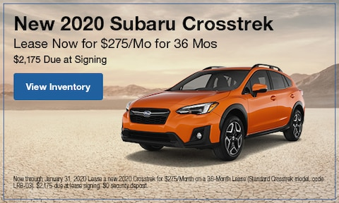 January | 2020 Crosstrek