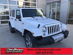 2018 Jeep Wrangler Unlimited WRANGLER JK UNLIMITED SAHARA 4X4 Sport Utility in Emporia, KS