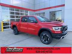 2020 Ram 1500 REBEL CREW CAB 4X4 5'7 BOX Crew Cab in Emporia, KS