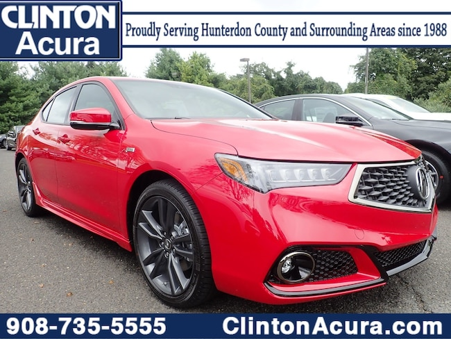 2019 Acura TLX 3.5 V-6 9-AT P-AWS with A-SPEC Sedan