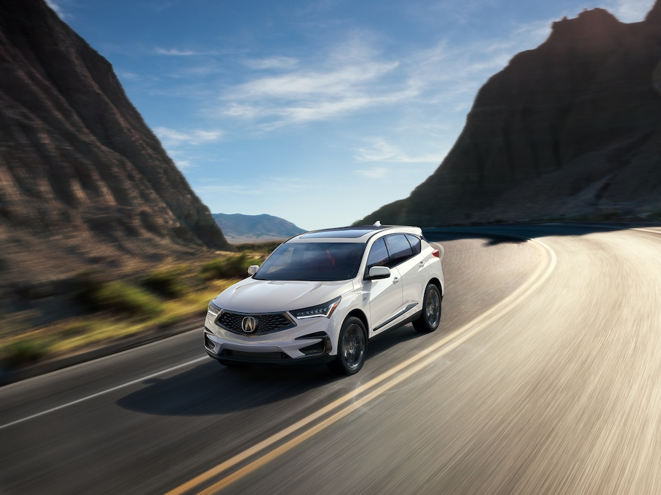 2020 Acura RDX on the Road