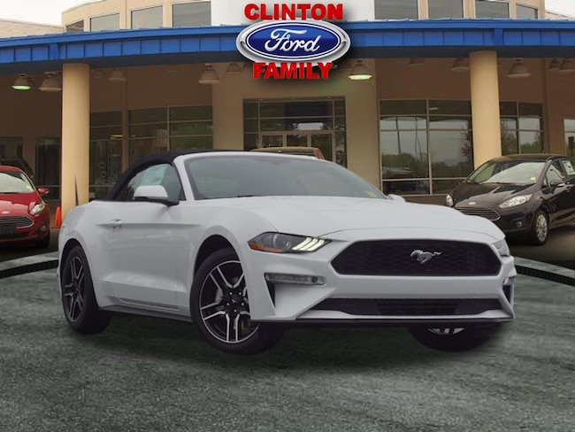 2019 Ford Mustang Ecoboost Premium EcoBoost Premium  Convertible