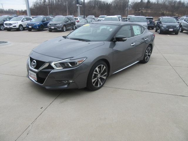 Maxima For Sale >> New 2018 Nissan Maxima For Sale Lease Clinton Ia Stock 18578