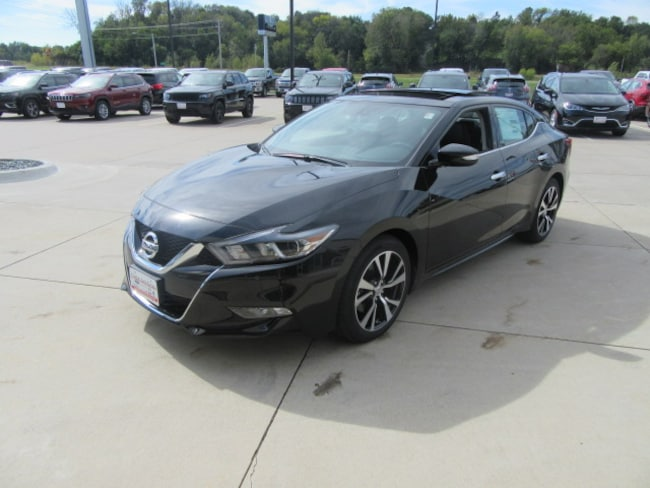 New 2018 Nissan Maxima 3.5 SL Sedan in Clinton, IA