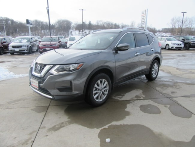 New 2019 Nissan Rogue SV SUV in Clinton, IA