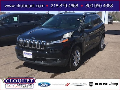 Used 2017 Jeep Cherokee For Sale at Cloquet Chrysler Center