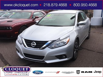 Used 2018 Nissan Altima For Sale at Cloquet Chrysler Center