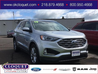 Used 2019 Ford Edge For Sale at Cloquet Chrysler Center