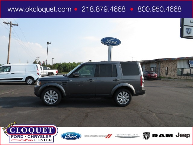 Used 2016 Land Rover LR4  with VIN SALAB2V6XGA797927 for sale in Cloquet, Minnesota