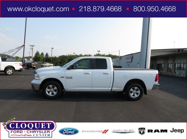 Used 2017 RAM Ram 1500 Pickup SLT with VIN 1C6RR7GT7HS521407 for sale in Cloquet, Minnesota