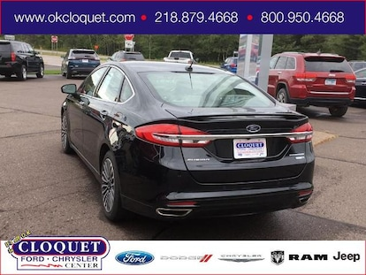 Used 2018 Ford Fusion For Sale at Cloquet Chrysler Center