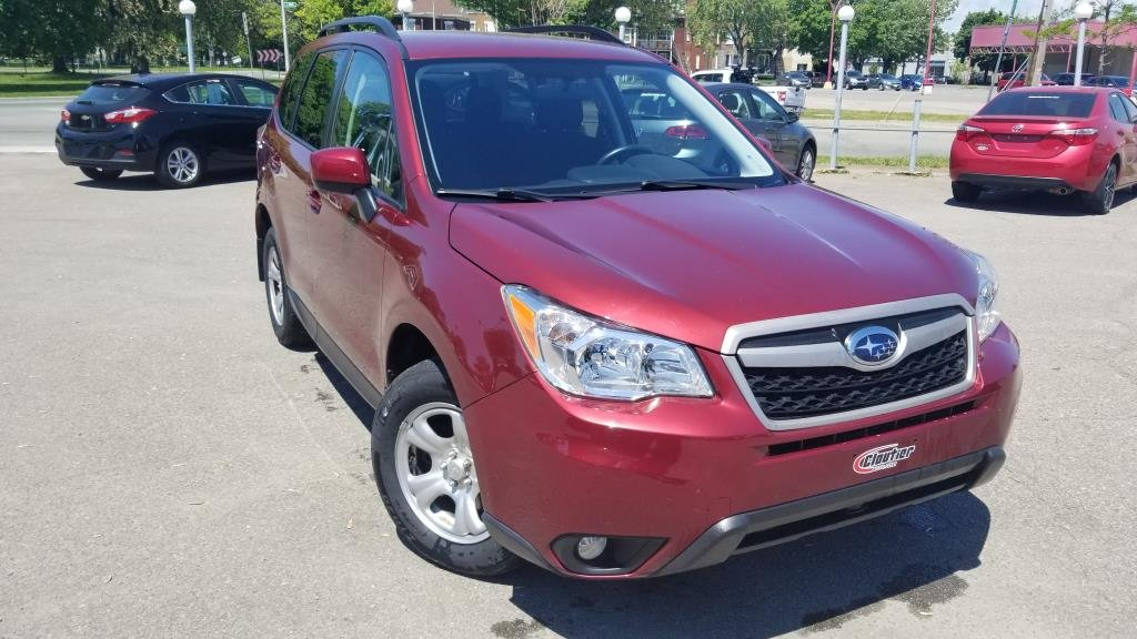 2015 Subaru Forester 2.5i Convenience Package VUS