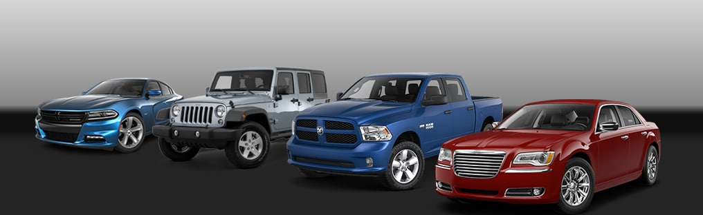 Chrysler Dodge Jeep Ram Lined Up