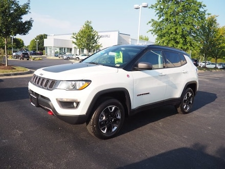 Featured Used 2018 Jeep Compass Trailhawk 4x4 SUV for Sale near Inwood, WV