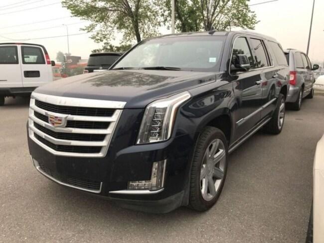 2018 Cadillac Escalade ESV Premium Luxury | HTD/AC Seats | Sunroof | DVD SUV
