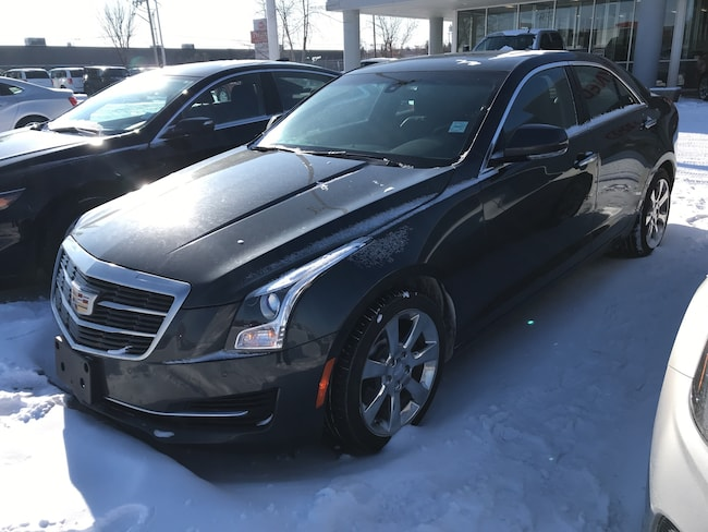 2016 CADILLAC ATS Luxury | 2.0LT | Lther | HTD Seats | Sunroof | AWD Sedan