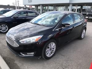 2018 Ford Focus Titanium | Hatch | Leather | HTD Seats | Sunroof